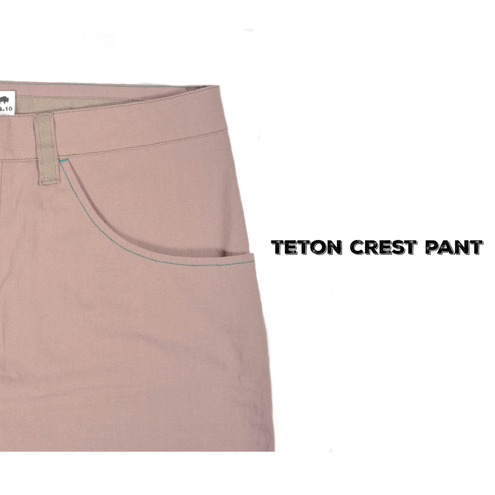 Teton Crest Detail
