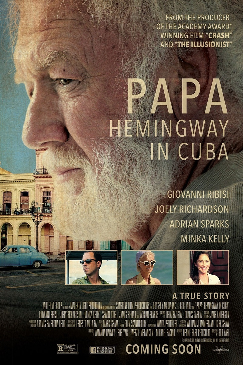 Movie: Papa: Hemingway in Cuba