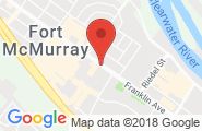 Fort McMurray google map image