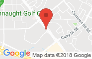 Medicine Hat google map image