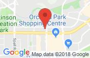 Kelowna google map image