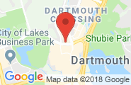 Dartmouth Crossing google map image