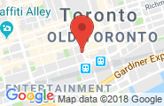 Toronto Downtown google map image