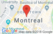 Montreal google map image