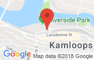 Kamloops google map image