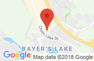 Bayers Lake google map image