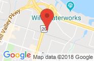 Hamilton google map image