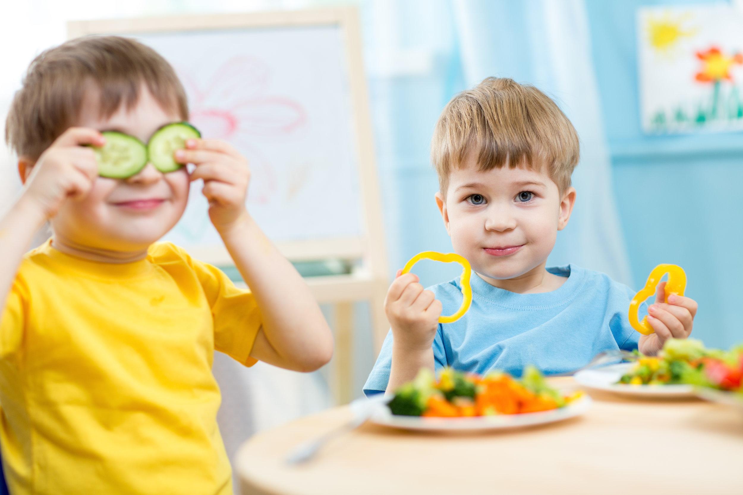 Healthy Food, Happy Kids, Bright Futures