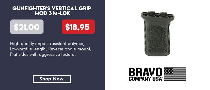 BCM GunFighter's Vertical Grip MOD 3 M-LOK® compatible