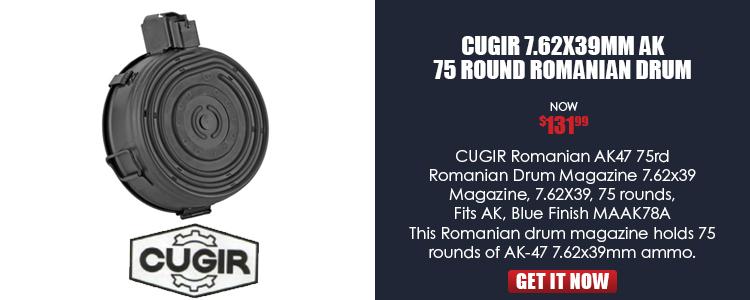 Romanian AK 75 rd. Drum Mag.