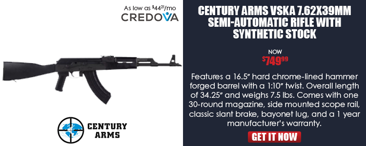 Semi-Auto Rifle w/Poly Furniture Cal.7.62x39mm