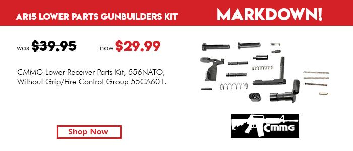 CMMG AR15 Lower Parts Kit Gunbuilders Kit