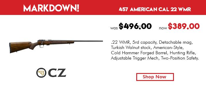 CZ 457 American Cal  22LR