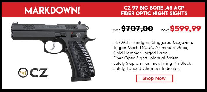 CZ 97 B – .45 ACP
