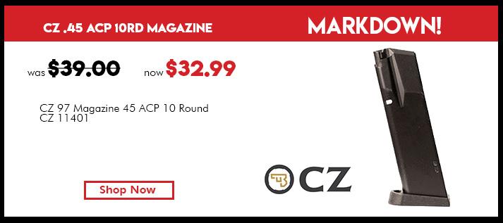 CZ 97 Magazine 45 ACP 10rd
