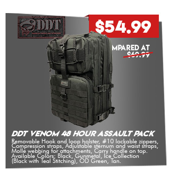 DDT Venom 48 Hour Assault Pack