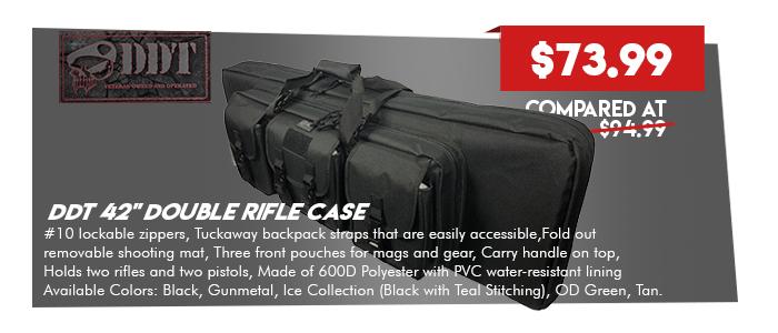 DDT 42in Double Rifle Case