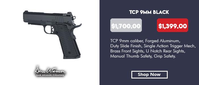 Dan Wesson TCP 9mm Black
