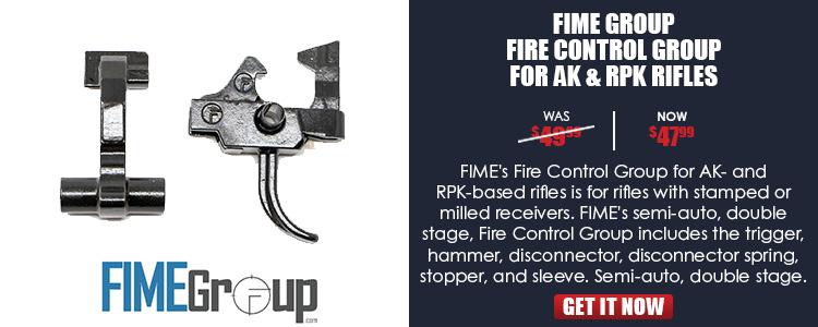 FIME FCG US AK/RPK Rifles