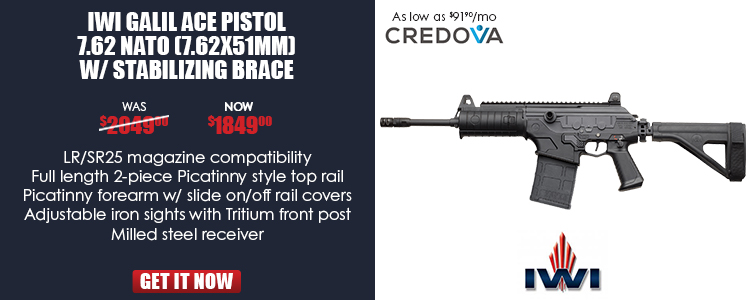 IWI Galil Ace Pistol 7.62 NATO