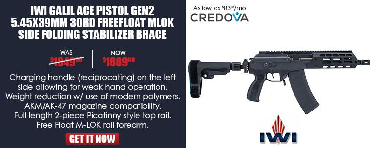 IWI Galil Ace Pistol GEN2 5.45x39mm