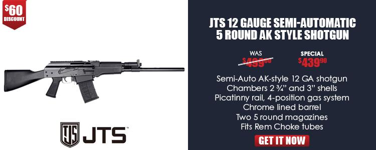 JTS AK-style 12 Gauge Shotgun