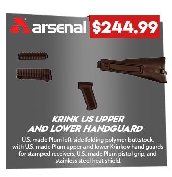 Black Set Krink US Upper and Lower Handguard