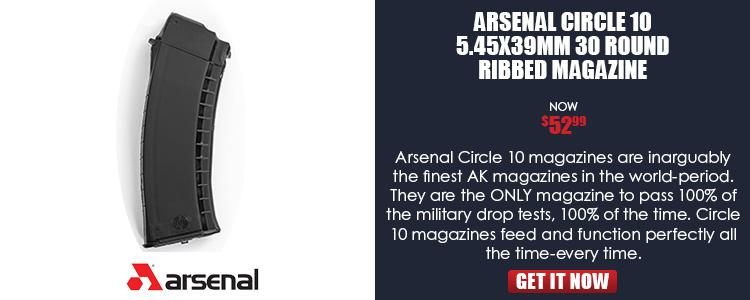 Magazine 5.45x39mm 30 Rounds Circle ((10)), Ribbed