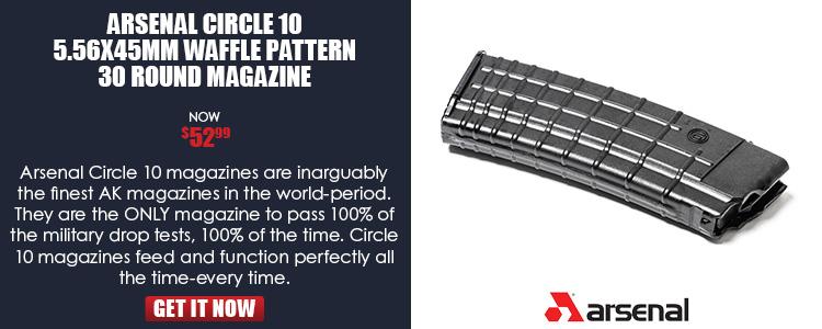 Arsenal Circle 10 5.56x45mm 30 Round Magazine