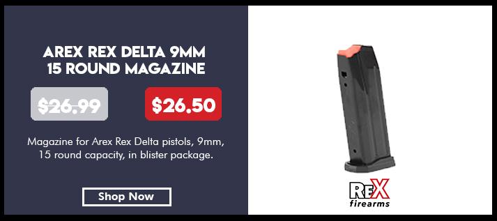 Arex Rex Delta 15 Round Magazine 9mm
