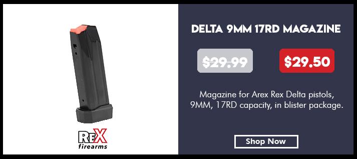 Arex Rex Delta 17 Round Magazine 9mm