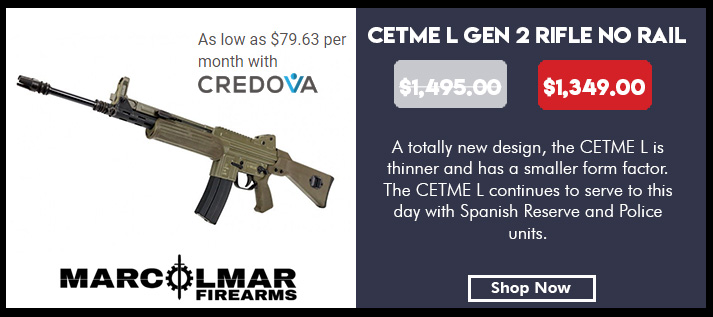 CETME L GEN 2 Rifle - Spanish Green no Rail