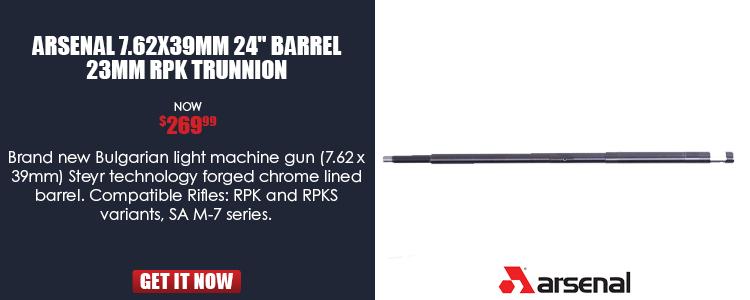 .62 x 39 mm 24in RPK 23mm TR Barrel