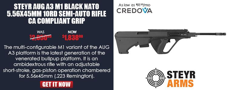Steyr Aug A3 M1 5.56 NATO 10rd CA Compliant Semi-Auto Rifle
