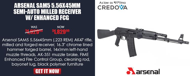 Arsenal SAM5-62 5.56x45mm Semi-Auto Rifle