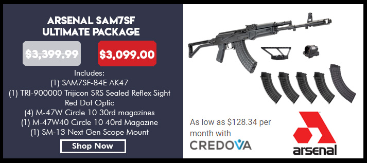 SAM7SF-84E 7.62x39 rifle,  Enhanced FCG, 2 30 rd magazines, 1ea 40rd Mag, SM-13 Scope Mount