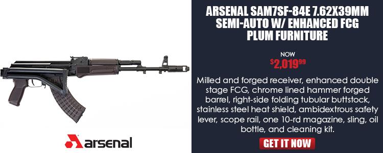 SAM7SF 7.62x39MM Semi-Auto Rifle in Plum Furniture