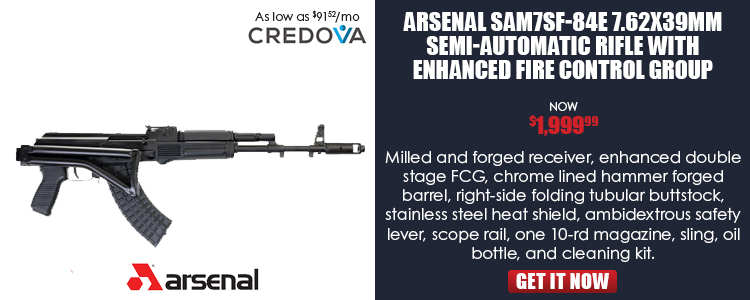 Arsenal SAM7SF-84E 7.62x39mm