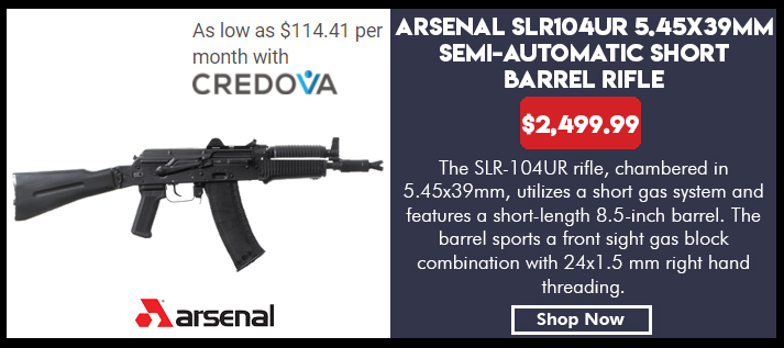 Arsenal SLR-104 SBR (Krinkov), 5.45x39mm Caliber Rifle