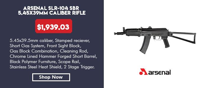 Arsenal SLR-104 SBR 5.45x39mm Rifle