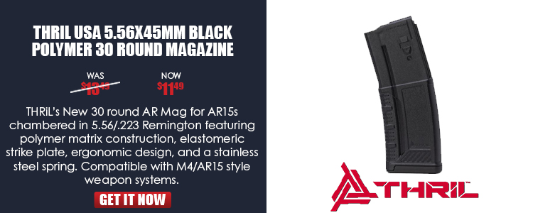 Polymer Matrix AR Magazine 5.56 x 45 mm 30rd Black (Compatible with M4/AR15 style weapon systems)
