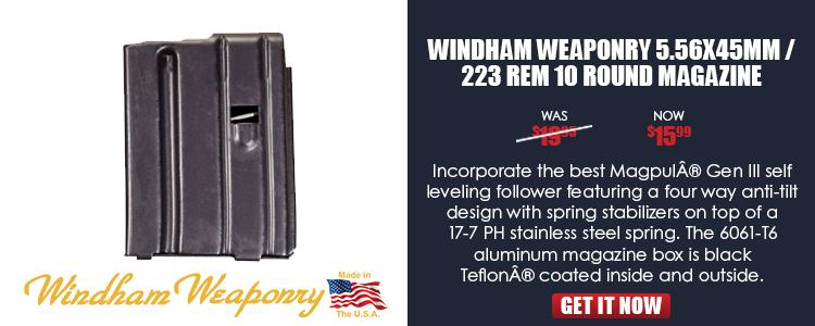 Windham AR 5.56 10rd Magazine