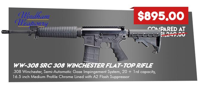 Windham Weaponry WW-308 SRC 308 Winchester Flat-Top Rifle