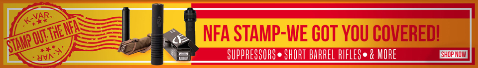 Stamp Out The NFA!