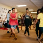 Sister Spokesman attendees work up a sweat at 'Summer Steppin' event