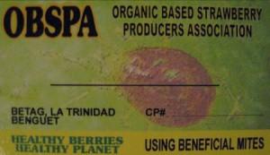 Biological control calling card.