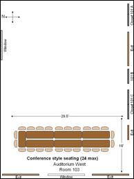 Sakuma Auditorium standard configuration (West only)