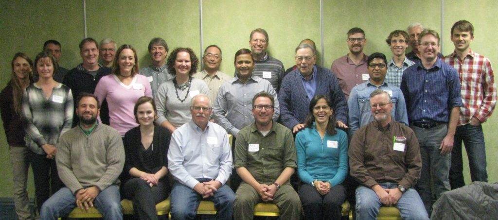 Group photo. Dr. du Toit is in the front row, second from the right.