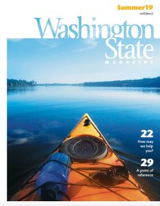 Cover of Washington State Magazine.