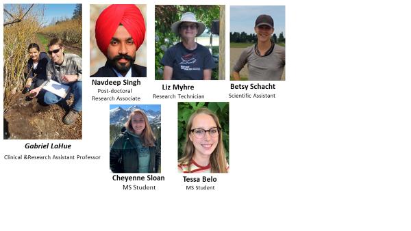 Members of the Soils & Water Program